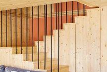 Escaleras de madera / Escaleras de madera hechas a medida. Funcionales y con estilo, siempre a la vanguardia del diseño y con los mejores acabados.