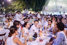"""Torna la """"cena in bianco"""" il 7 luglio a Milano @cenaconme"""