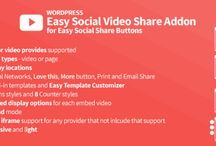 Easy Social Video Share / Addon for Easy Social Share Buttons for WordPress
