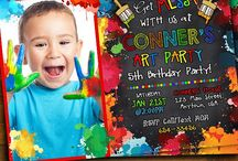 Art Party Birthday Party Ideas