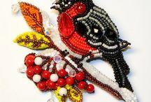 Ptaki z koralików