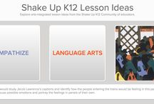 Shake Up K12 / Explore Shake Up K12, a game for teachers to create arts-integrated lesson ideas. See the creativity unfold when educators choose the artwork, roll the dice, and dream up a lesson plan for their students!