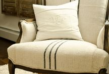 French Linen and Burlap