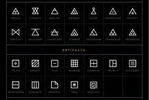 Symboler/tecken tattoo