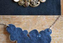 DIY necklaces and crafts