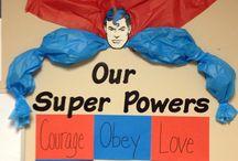Superhero Theme Unit