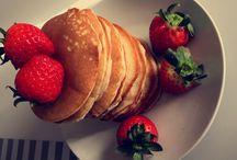 Healthy Pancakes / Pancakes aus Dinkelmehl und Xylit