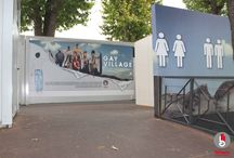 Gay Village / Allestimento container