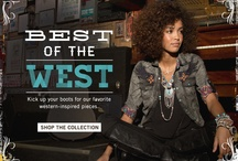 Best of the West - Women / With distinct patterns, textures, and details, this collection is ready to rope 'n ride! / by Buckle