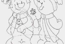 winter templates