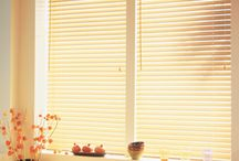 Faux Wood Blinds/ Horizontal  / Faux Wood blinds are a more economical choice over real wood without sacrificing the look of real wood. Faux wood blinds are ideal for high humidity areas, and are extremely easy to clean. They do not warp or crack and are very durable. A great choice for bathrooms and kitchens. Visit Factorydirectblinds.com for more information on our beautiful faux wood blinds!