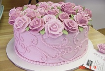 cakes  / by Becky Tyner
