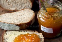 Jams, jellies and sauces