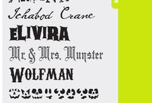 Fun Fonts and Printables / by Joy Chaplin