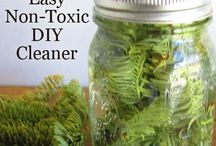 Natural Home Cleaning / Natural homemade cleaning products to make your home toxins free.