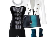 Christopher and Tammy Kane / Inspired by the 1990s the deconstruction fashion is shown and also the 'madonna' style corset