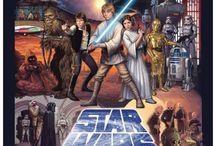 Плакат звёздных войн