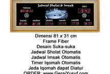 Jam Digital Masjid / Jual jam digital masjid - jadwal sholat digital otomatis harga murah