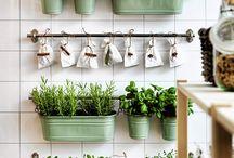 Design with plants kitchen
