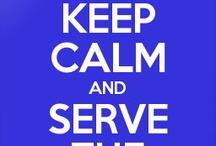 Tau Beta Sigma / Serving the bands!