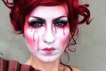 Extravagant make up by me