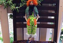 Handmade dolls by Tonya