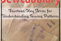 Sewcabulary / Sewing projects and tips