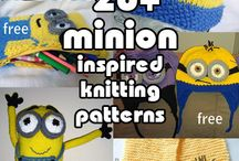 Knitting for Children / Ideas of fun toy knits to give away