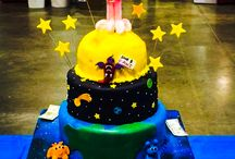 Birthday Cakes / Our Bakery offers decorated cakes, which are not only delicious, but beautifully decorated as well! Regular cake flavors include white, yellow, chocolate, marble, red marble & red velvet.
