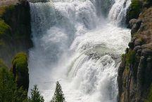 Terrasses of messa Falls.