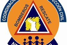 Escudos de Corporaciones de Emergencias. / Escudos y logotipos de instituciones y corporaciones dedicadas a la atención de emergencias, Capacitacion, entrenamiento o difusión de esta actividades.