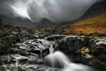 Ireland, Scotland, England