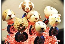 Puppy cake pops by SUSYPOPS / Custom ordered puppy pops! #Cake #Cakepops #pets #Dog #Puppy