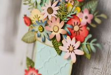 Sizzix funky florals #1
