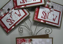 2015 Stampin up Christmas cards