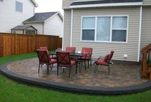 Paver Patios/Walkways / We use a variety of paver bricks in different sizes, shapes, and colors to fit your outdoor preferences and needs. Call today for a free consultation!