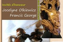 Salon d'Automne 2013 / Le 33e Salon d'Automne des artistes mussipontains du 19 au 27 octobre 2013 à Pont-à-Mousson accueillera la peintre Jocelyne Olkiewicz et le sculpteur sur bois Francis George