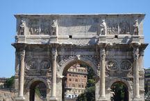 Arco de Constantino. Siglo I. Roma. Italia. /  #Photo #Travel #History #Art #Architecture #Fotografía #Viajes #Historia #Arte #Arquitectura