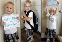 First Day Of School and End of the Year / by Megan Fleming