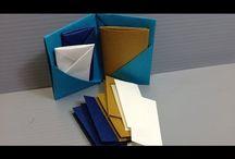 Origami photostand / cardholder