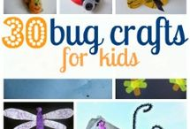 Bug theme / Early Years bug theme activities and games for toddlers and preschool children.