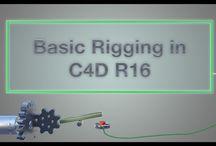 C4D - Rigging
