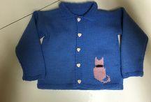 Tricot bébé et petite fille / Projets tricots pour petite fille