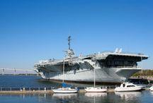 Aircraft Carrier USS York Town