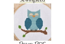 Sewingseed / Hi! My name is Tina. I love to create fun and fresh cross stitch patterns that are easy to stitch. I've been cross stitching for almost 20 years now and everything you see in my shop was stitched by me. I hope you enjoy your visit :)