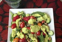 Salads / by Suzette Madeiros Sailsman