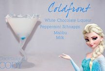 Famous Disney character cocktails / Great cocktails named after Disney characters