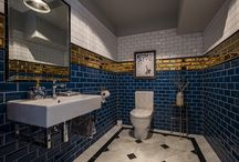 Amazing Bathroom Designs / Amazing bathrooms designed by Tonya Douglas of Little Design House using tiles from TileStyle