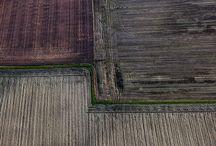 Aerial Landscape Netherlands