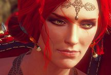 Beautiful Triss Merigold from The Witcher 3